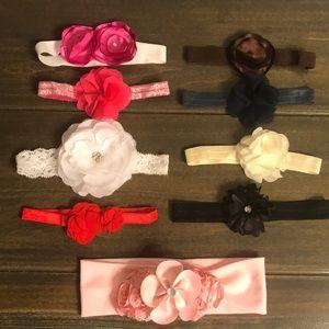 Baby Flower Headbands Assorted